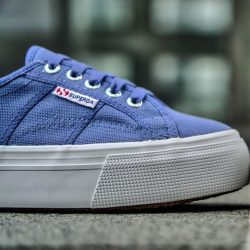 [Superga] Superga Flatform Blue VelvetFree 1-4 Days Delivery → http://bit.ly/2kLdkdX