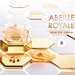 [Guerlain] The new Abeille Royale Replenishing Eye Cream now includes an exclusive royal jelly used in an extremely high concentration for