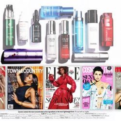 """[3LAB] Thank you to the amazing Linda Wells for including our new """"M"""" Serum in the premiere #lindawellsreport in Harper's"""