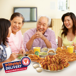 [Popeyes Louisiana Kitchen Singapore] After all the Chinese New Year rush, how about a night of hassle-free dinner?