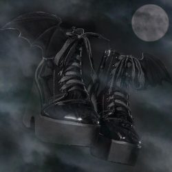 [Iron Fist Clothing] Creatures of the night behold the latest offering from her highness and your noble Bat Queen, Ash Costello. These shining,
