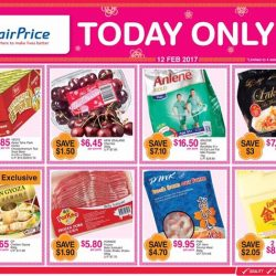 [NTUC FairPrice] Here's something to brighten your Sunday grocery shopping 🌞 Take your pick from chrysanthemum tea, chicken gyoza, IQF prawn and