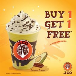 [J.Co Donuts & Coffee] Get ready for a special 1 for 1 treat this coming Tuesday, 28th February from 3pm to 8pm!