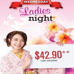 [Kuishin Bo] It's Wednesday! It's Ladies Night in Kuishin Bo and ladies can enjoy a 120 mins buffet at $42.