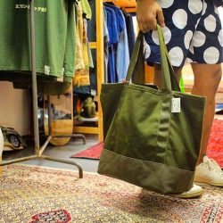 "[STRAITS ESTABLISHMENT] Mini Hulk too bag by FIN Crafted Goods Co.The mini tool bag measures at 20"" wide and 15"" high"