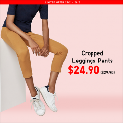 [Uniqlo Singapore] Check out these Limited Offers ending 26 February.