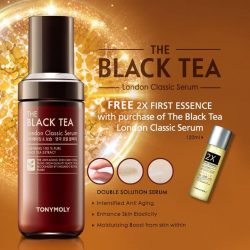 [Tony Moly Singapore] New [ The Black Tea London Classic Serum ] !Have you ever wonder how the royals in London have such youthful and
