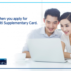 [Citibank ATM] Share your privileges with your loved ones and be rewarded when you apply for a Citi Supplementary Card.From now