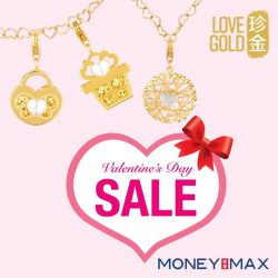 [MONEYMAX] Save the date! We are having a Valentine's Day Sale over at Jurong Point Shopping Centre Atrium from 3