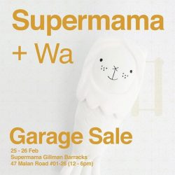 [Supermama] Sad and despised items 😩 (wrong colour treatment, scratches, deadstock etc.) will be up for sale... 25-26 Feb, 12-6pm.#