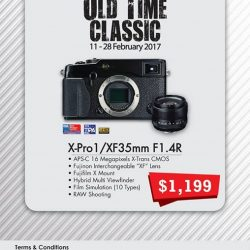 [FUJIFILM] Remember our flagship model, X-Pro1 - our old time classic , we are pleased to roll out a promotion for X-