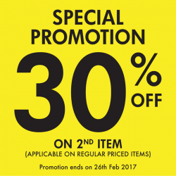 [Bata Shoe Singapore] Don't miss out on this special 30% promotion! 3 days only!