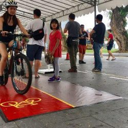 [Falcon PEV] A New Safe Riding Programme was announced by LTA at Car Free Sunday yesterday.