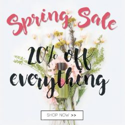 [365 Days] 365 Days Spring Sale is here!Shop now at our online store and receive a 20% discount on all products!