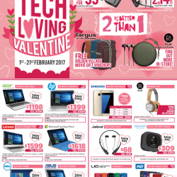 [Newstead Technologies] In this month of LOVE, surprise your love one with Tech Loving Valentine's deals and enjoy savings up to $