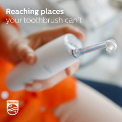 [Philips] We take care of our teeth everyday, almost without thinking. But cleaning between teeth can be a challenge. With the
