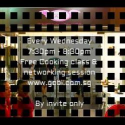 [Gobi Desserts] Every Wednesday Networking & free baking classes.