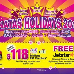 [ASA Holidays] NATAS HOLIDAYS is back this February! This year, ASA Holidays is out with its widest variety, best deals and biggest