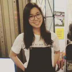 [library@orchard] Trivia Goh, artist and illustrator, deals primarily with large-scale charcoal drawings and paintings which focus on the little things