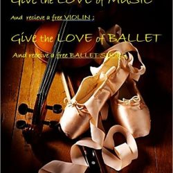 [Viva School of Music and Ballet] A Valentine Treat from Viva Music and Ballet Academy!For Music Courses (Violin, Piano, Guitar and Vocal):  Signed up for