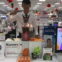 [Kuvings] Catch us juicing in-action at the following places: 1. Best Denki @ Great World City Level 2 2. Tangs @ Orchard