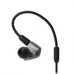 [Stereo] Bring the concert experience to your everyday life. With its Dual Symphonic Drivers, the newest Audio-Technica ATH-LS50iS and