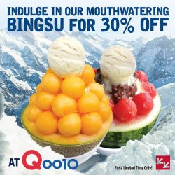 [CHICKEN UP] Can't get enough of our best-selling desserts??? Hurry and grab this new promo up at Qoo10! CLick this