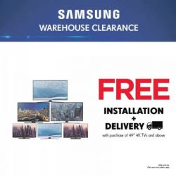 [Courts] Samsung Warehouse Clearance is NOW ON!