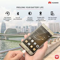 [HuaWei] Cool your phone down with these five power-saving tips: 1) Use your phone's built-in power widget 2)