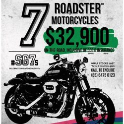 [Harley-Davidson] 2 deals to tickle your rumbling heartbeat.