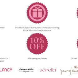 [Pierre Cardin] Here's an awesome news this TGIF: Enjoy these benefits as a My Fabulous Club member when you sign up
