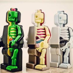 [My Little Brick Shop] Jason Freeny's Micro Anatomic (Dissected Minifigure) Set of 3 at 50% off! Original Price $75, now $39! While stocks