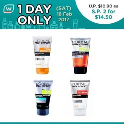 [Watsons Singapore] Free your skin from impurities and dullness! Here's the 1st of our exciting 1 Day Deal: SAVE 33% on