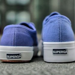 [Superga] Blue Velvet -- This week's most wanted.Free 1-4 Days Shipping → http://bit.ly/2lmGxwy