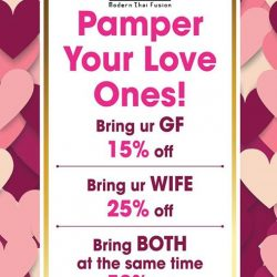 [SOM TAM] Want to pamper your partner even more this Valentine's Day? Why not treat them to a hot, authentic Thai