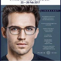 [Optique Paris-Miki] Exclusive LINDBERG Trunk Show Event at Paris Miki Holland Road S.C. from today to 26 Feb 2017! Enjoy great