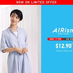 [Uniqlo Singapore] Stay comfortably fresh all day with enhanced deodorisation in our AIRism Innerwear for women. Shop now to enjoy these great