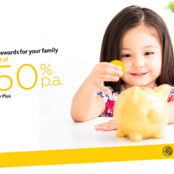 [Maybank ATM] For a limited period only, deposit S$50,000 into Maybank Youngstarz Savings Account for your child to enjoy additional