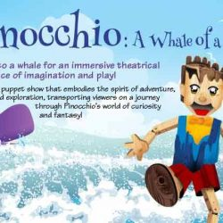[SISTIC Singapore] Tickets for Pinocchio: A Whale of a Tale! go on sale on 15 Feb 2017. Get your tickets through SISTIC