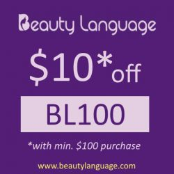 [Beauty Lauguage] Get $10 off and free shipping with our discount code: BL100www.beautylanguage.com