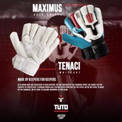 [WESTON CORP] New TUTO Gloves Available Now At Weston Queensway,Peninsula And Kallang Wave and Online Free Customisation
