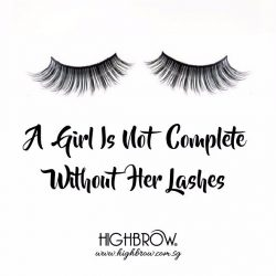[Highbrow] Beautiful is the girl with lush lashes so get yours now with Highbrow. 50% discount for first time customers. • Star