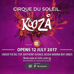 [M1] EXCLUSIVE! 15% off tickets to Cirque du Soleil's KOOZA!Being our M1 customer has its perks. M1 is proud