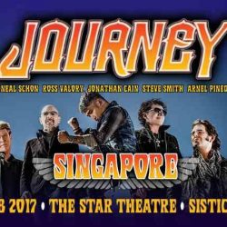 [SISTIC Singapore] American rock icon Journey  has returned and will be playing at The Star Theatre on Friday! Formed in 1973, the