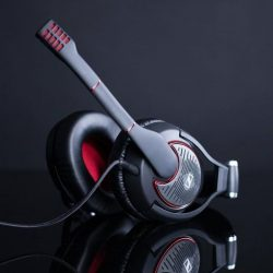 [Stereo] The ultimate gaming headset. Sennheiser's GAME ZERO brings you extreme comfort, with thick ear pads made with leatherette and