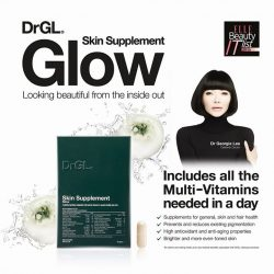 [DrGL] Look beautiful from the inside out! DrGL® Skin Supplement Glow is the latest addition to the proprietary skincare range by
