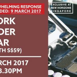 [New Horizon Centre] Due to overwhelming response, we have added a new date on Network Defender Seminar on 9 March 2017 (Thursday).