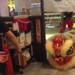 [Keisuke Ramen] Lion Dance Performance @ Kani King Cineleisure today!Please note that for a period of 6 months till 31st July 2017,