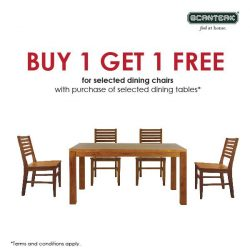 [Scanteak] 2 for the price of 1 for selected teak dining chairs!