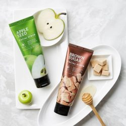 [Missha Singapore] Exfoliation is important to prevent clogged pores and promote fresh, healthy skin!Made of natural ingredients, MISSHA's Apple Seed